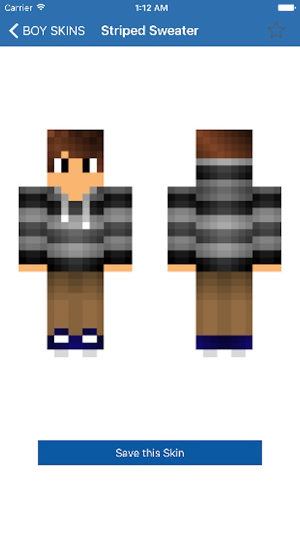 Lastest BOY SKINS For Minecraft Pe By Aaron Kwok Shaz - Skins para minecraft pe boy