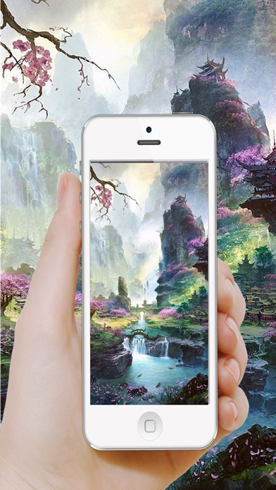Screenshots of Moving Wallpapers HD-Dynamic Screen for free for iPhone