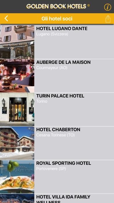 Screenshot of Golden Book Hotels2