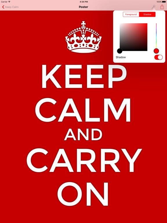 Keep Calm Creator On The App Store