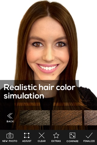 Hair Color screenshot 2