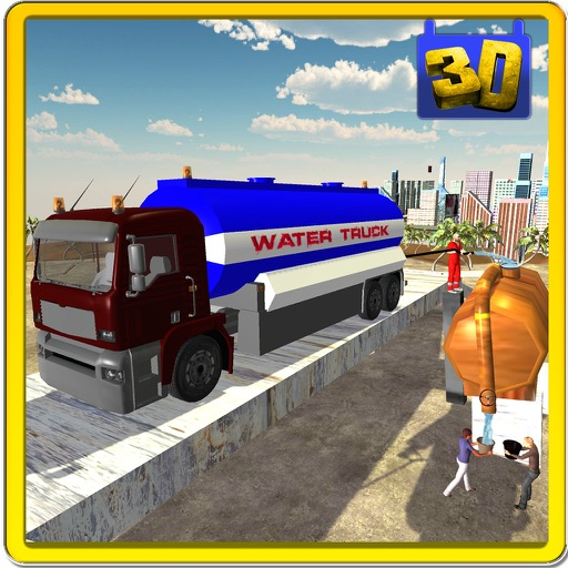 Transporter Truck Water Supply- Driving Simulator iOS App