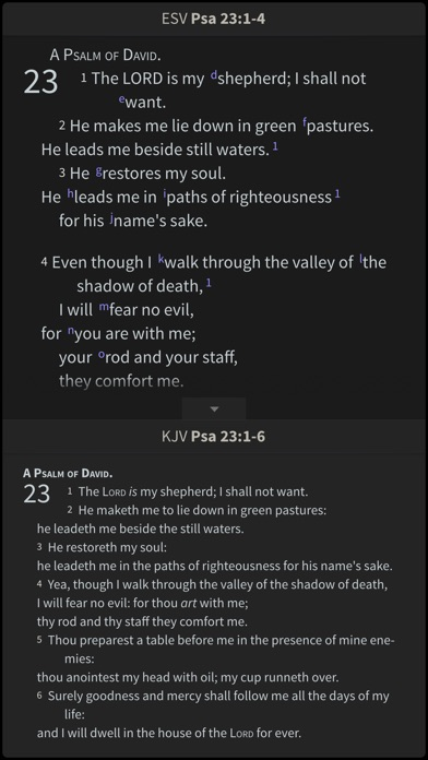 Esv Study Bible By Olive Tree review screenshots