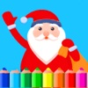 Christmas Coloring book & New Year painting games