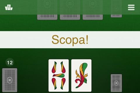 La Scopa - Classic Card Games screenshot 2