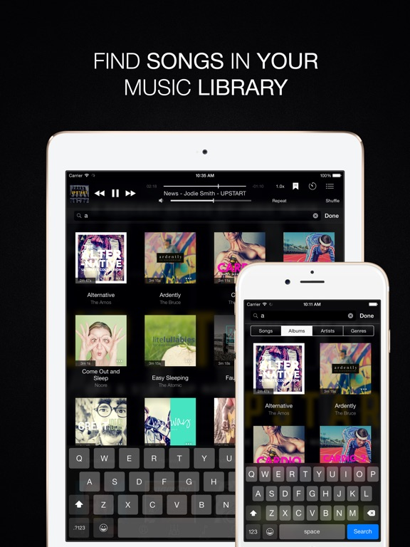 Evermusic Pro - offline music Screenshots