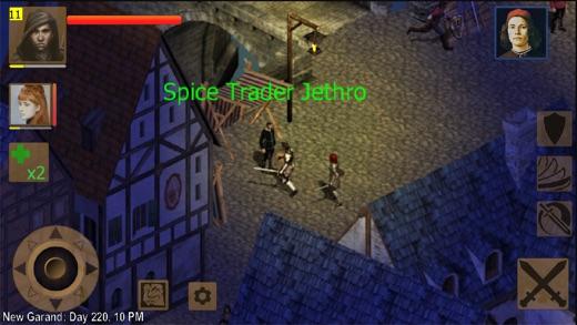 Exiled Kingdoms RPG Screenshot