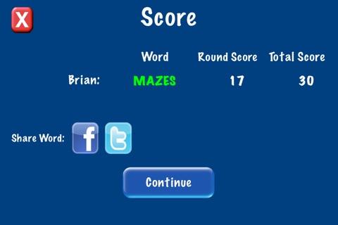 QuickWord - Word Game screenshot 3