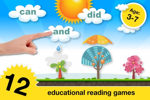 Phonics Fun Farm Games: Letter Sounds, Sight Words screenshot 1