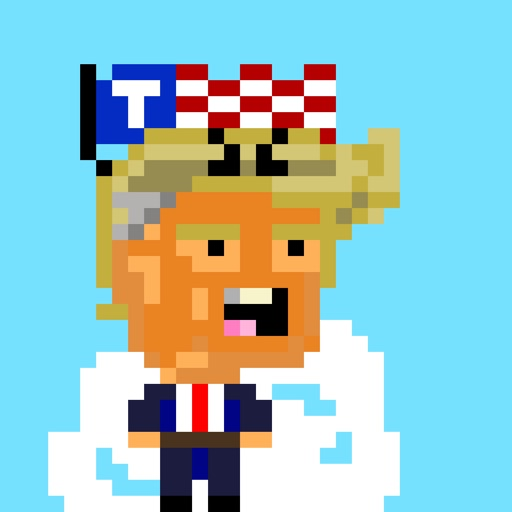 Alien Trump Hairpiece Invaders iOS App
