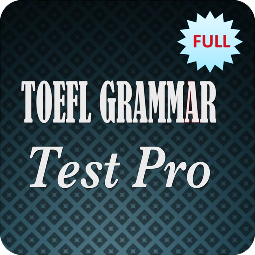 Toefl Grammar Test Pro  - Full iOS App