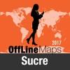 苏克雷 離線地圖和旅行指南