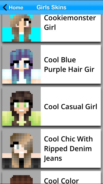 Girls Skin Pack +Edit... screenshot1