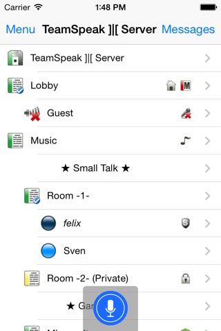 TeamSpeak 3 screenshot 1