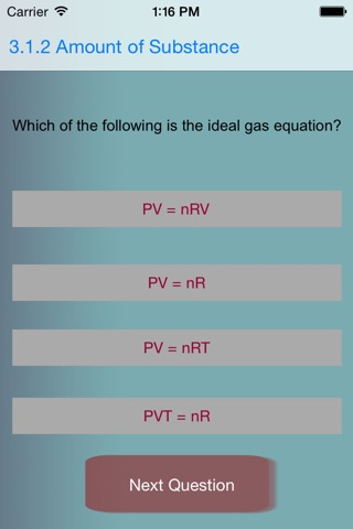 Chemistry As Revision screenshot 1