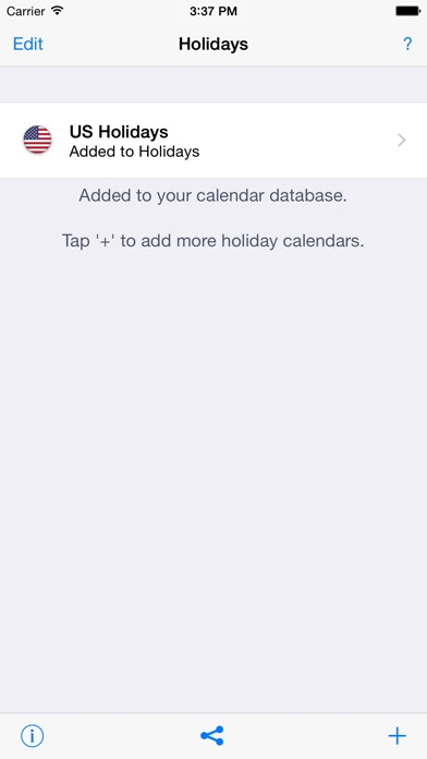 Holidays 2017 edition on the app store iphone screenshot 4 sciox Gallery