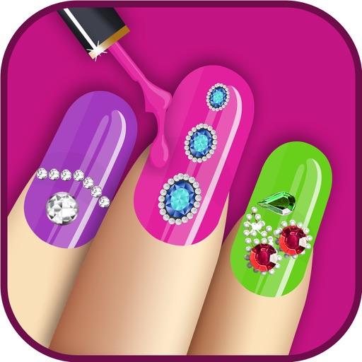 Nail Salon For Girls - Virtual Nail Art For Free iOS App