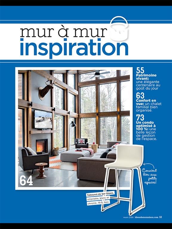Id es de ma maison par tva publications inc for Application de construction de maison ipad