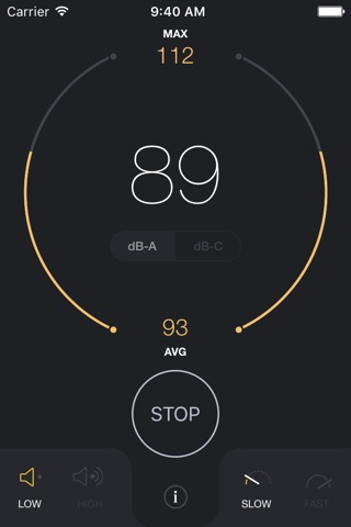 dB Decibel Meter - sound level measurement tool screenshot 4