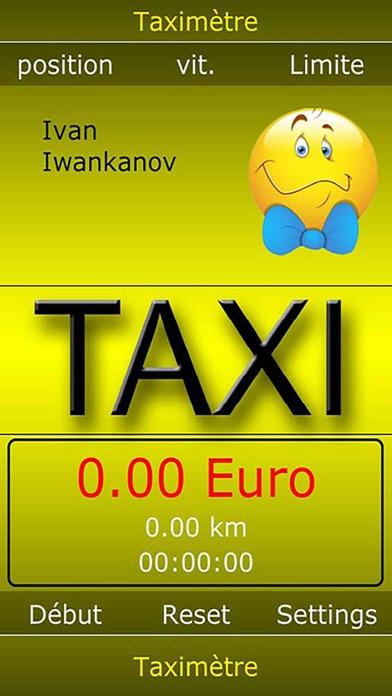Taximètre numériqueCapture d'écran de 3