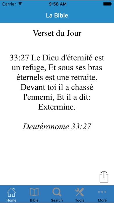 download La Sainte Bible en Français  par Louis Segond apps 1