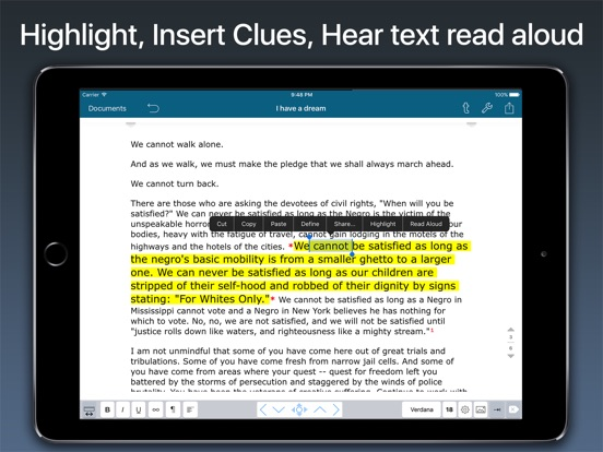 Speech Writer Text Editor Screenshots