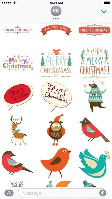 С Рождеством Христовым - СтикерыСкриншоты 1