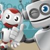 robot di fabbrica: gioco di creatività per bambini