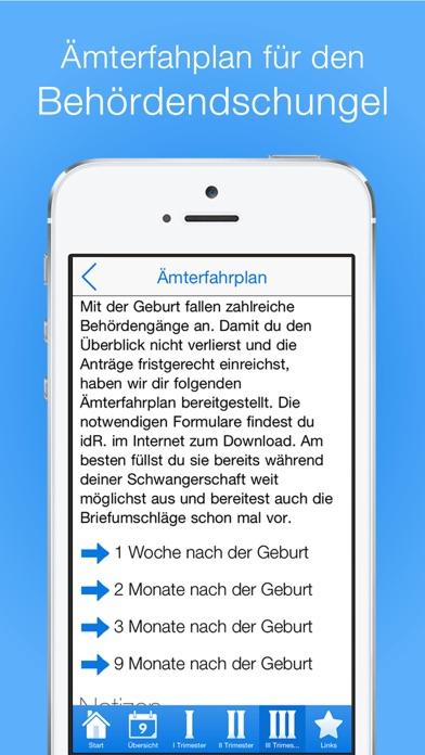 Screenshot for Checklisten für Schwangere PRO in Germany App Store