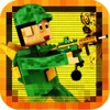 Pixel Block Zombies Survival City War - Endless Highway Shooting Voxel Game FREE