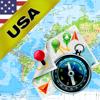 America, United States (US) - Offline Map & GPS Navigator - Vasilijs Nikitins