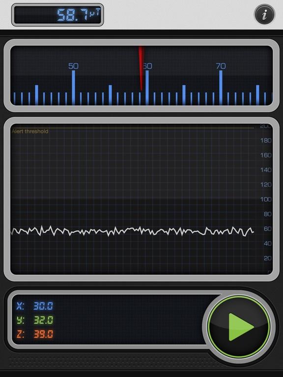 Screenshot #4 pour Teslameter 11 - Metal Detector