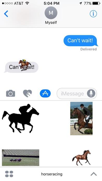 Horse Racing Stickersのスクリーンショット5