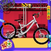 Cycle Factory- Repairing & Cleaning Garage Game