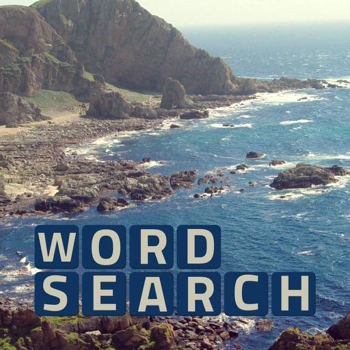 Wordsearch Revealer Landscapes iOS App