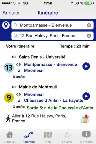 Paris ci la sortie du Métro screenshot 1