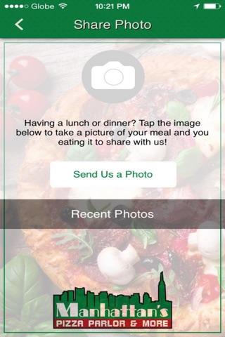 Manhattans Pizza Parlor & More screenshot 3