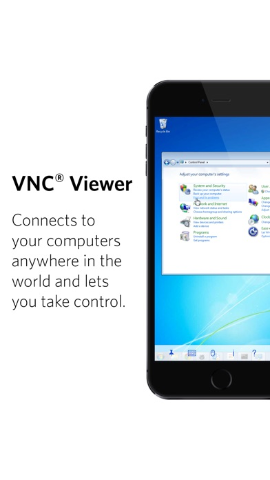 VNC Viewer - Remote Desktop Screenshots
