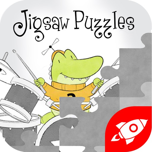 Alligator in the Elevator Jigsaw Puzzles iOS App