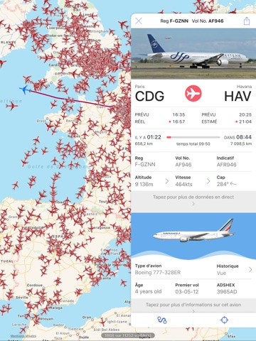 Plane Finder screenshot 1
