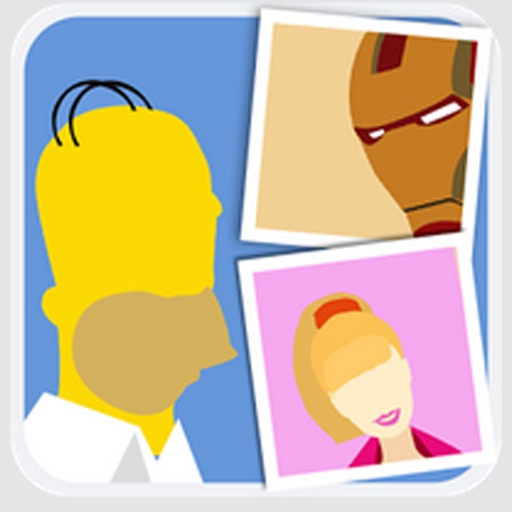Cartoon Quiz Trivia. Guess an animation character. Game for kids and parents. iOS App