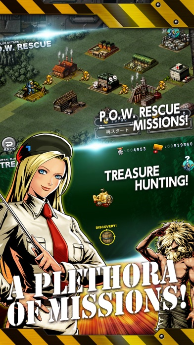 METAL SLUG ATTACK Screenshots