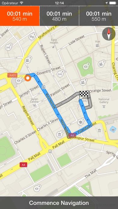 Londres Carte et plan de voyageCapture d'écran de 4