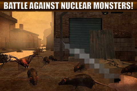 Nuclear Badlands Survival 3D Full screenshot 2