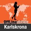卡尔斯克鲁纳 離線地圖和旅行指南