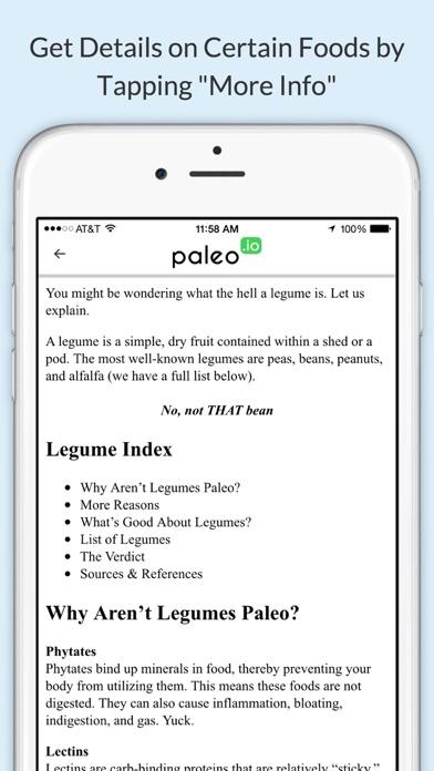 Paleo (io) iPhone