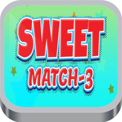 Sweet Match 3 Colorful Game iOS App