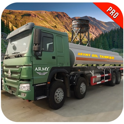 Off Road Army Oil Truck Drive Pro iOS App