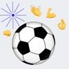 Messenger Soccer Flick Field Game: Goal Football