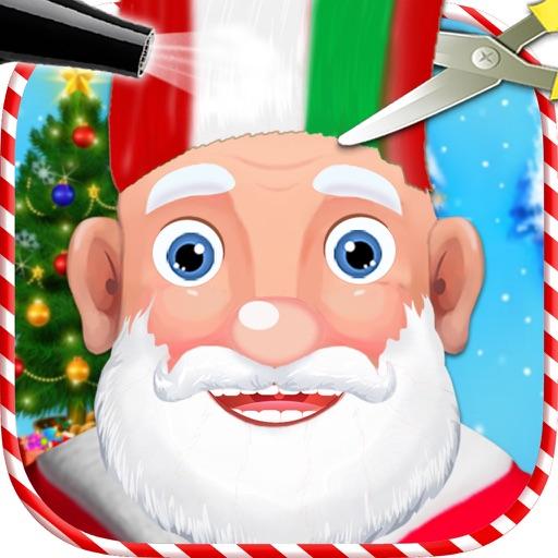 Santa Hair Salon - Crazy Hairstyle & Dressup Games iOS App